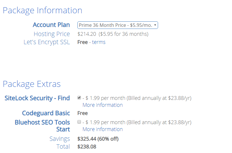 老牌外贸主机Bluehost黑五优惠促销:价格低至2.95美元/月